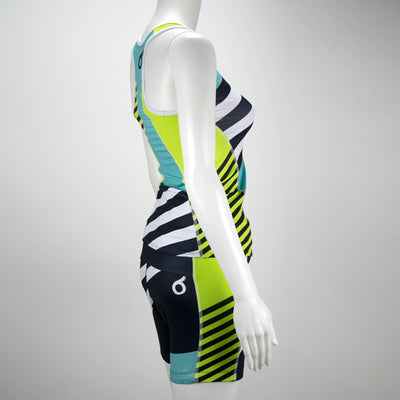Female Triathlon Short Coronado Back Mannequin