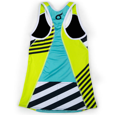Female Triathlon Tank Bra Support Coronado Back