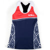 Female Triathlon Tank Support Aztec Front