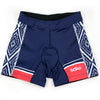 Female Triathlon Shorts Aztec Front