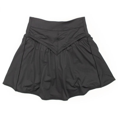 Basic Black Fleet Skirt