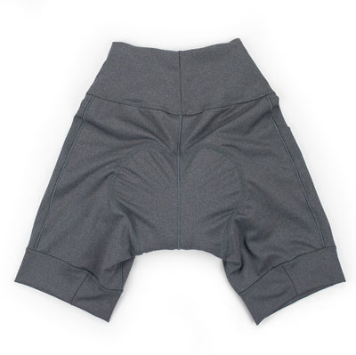 Basic Fleet Cycling Short Charcoal