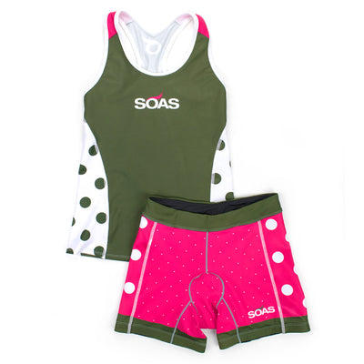 Seeing Spots Kit Tri Short