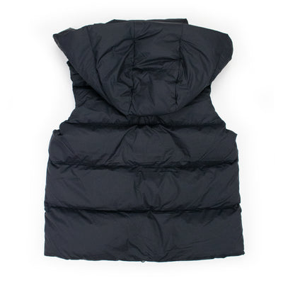 Down Hooded Puffer Vest