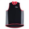 Female Running Vest Basic Coral Front