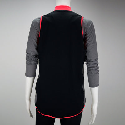 Female Running Vest Basic Coral Back Mannequin