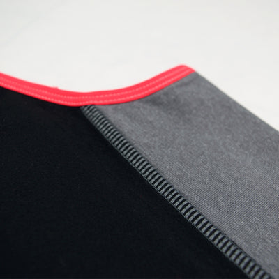 Female Running Vest Basic Coral Fabric Close Up