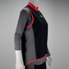 Female Running Vest Basic Coral Side Mannequin