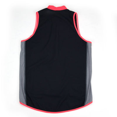 Female Running Vest Basic Coral Back