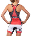 "Red Team Race Tri Short 7"" JFU"