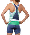 "Green Rings Tri Short 5"" JFU"