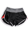 Red Houndstooth Run Short JFU