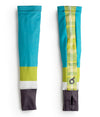 Teal Plaid Arm Warmers JFU
