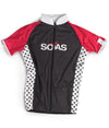 Pink Polka Dot Cycle Jersey JFU
