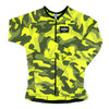 Safety Camo Cycle Jersey Long Sleeve