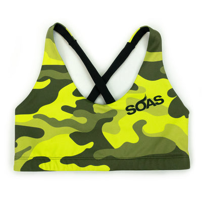 Safety Camo Shore X Bra