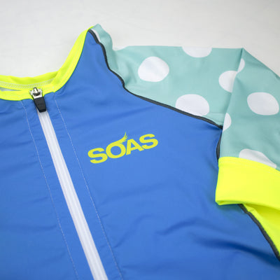 Neon Seeing Spots Aero Cycle Jersey