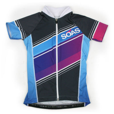 Female Cycling Jersey Front Aquarius