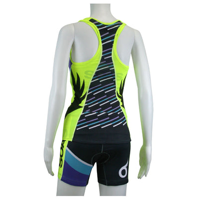 Female Cycling Tri Short Speed Series Back Mannequin