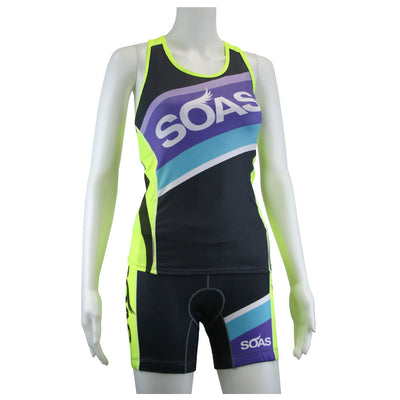 Female Cycling Tri Short Speed Series Front Mannequin