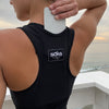 Basic Black Traveler Sports Bra