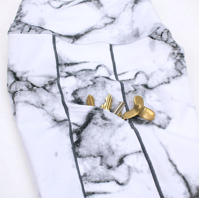 Marble Full Length Run Tights