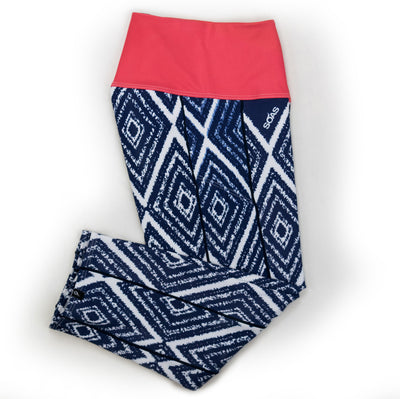 Female Running Tights Aztec