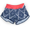 Female Running Short Aztec Front
