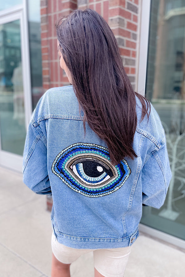 To Nashville With Love Jacket with Eye
