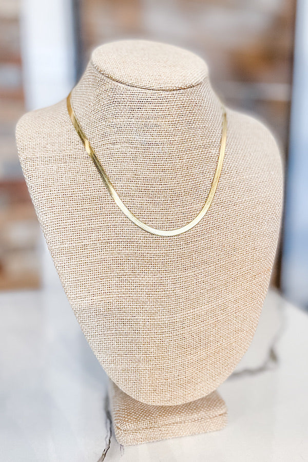 Weekender Herringbone Necklace
