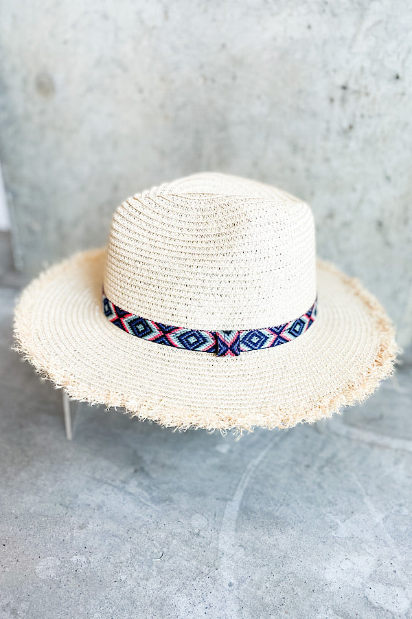 Kit Straw Hat in Natural