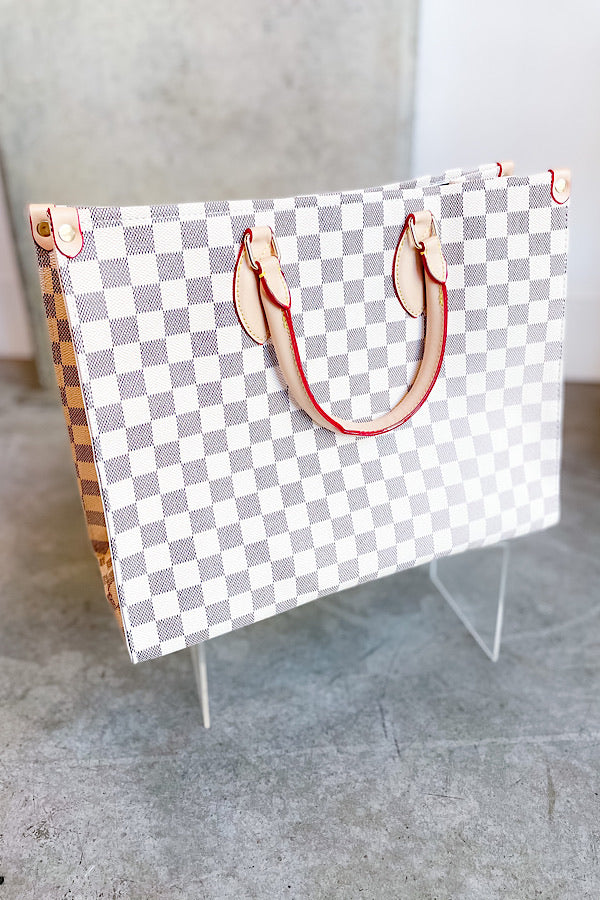 Act Natural Checkered Bag - RTS 3/20