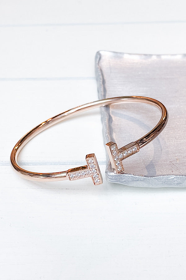 Natalie Bracelet in Rose Gold