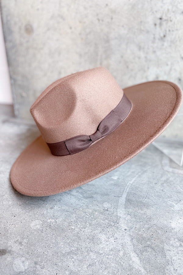 Rancher Hat in Dark Taupe