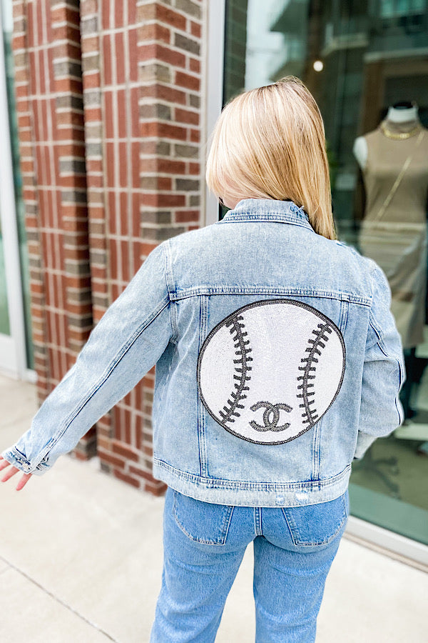 To Nash With Love Jacket with Baseball - Size L