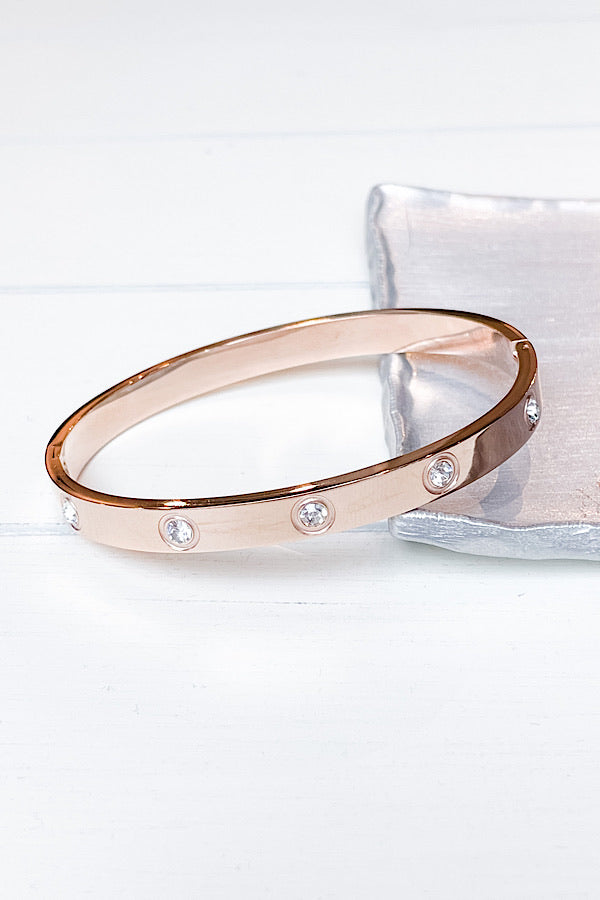 Alexa Bracelet in Rose Gold