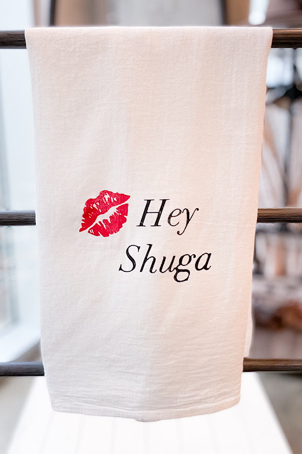 Hey Shuga Tea Towel