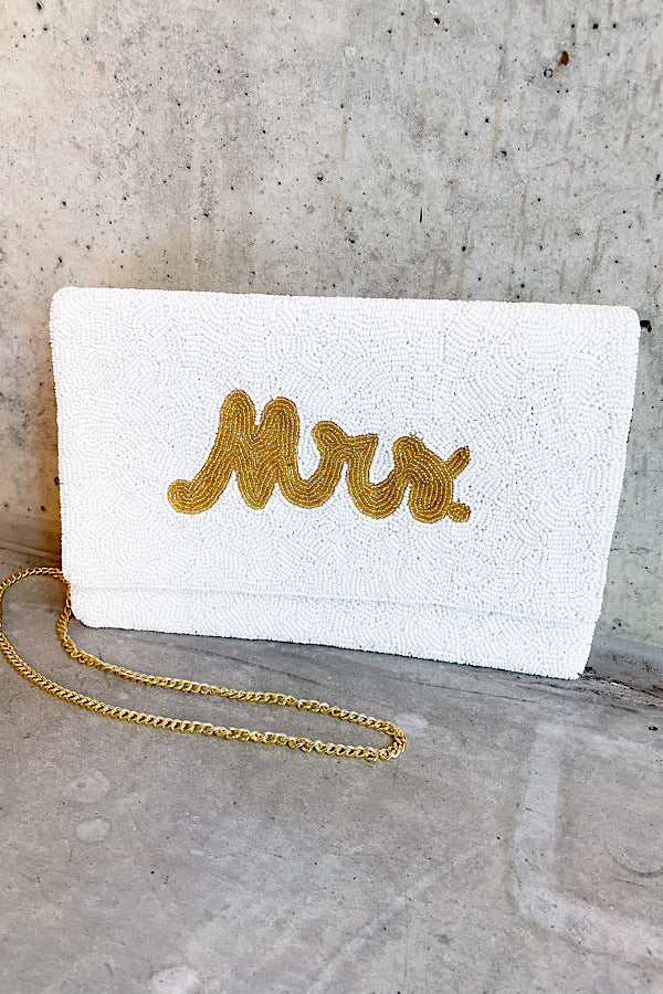 MRS Beaded Clutch/Crossbody
