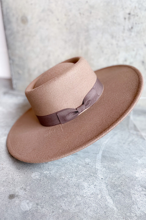 Brady Hat in Dark Taupe