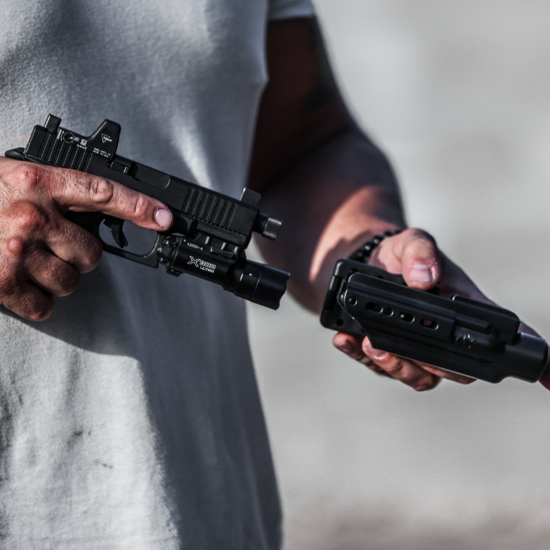 Weapon Mounted Light KYDEX Holsters