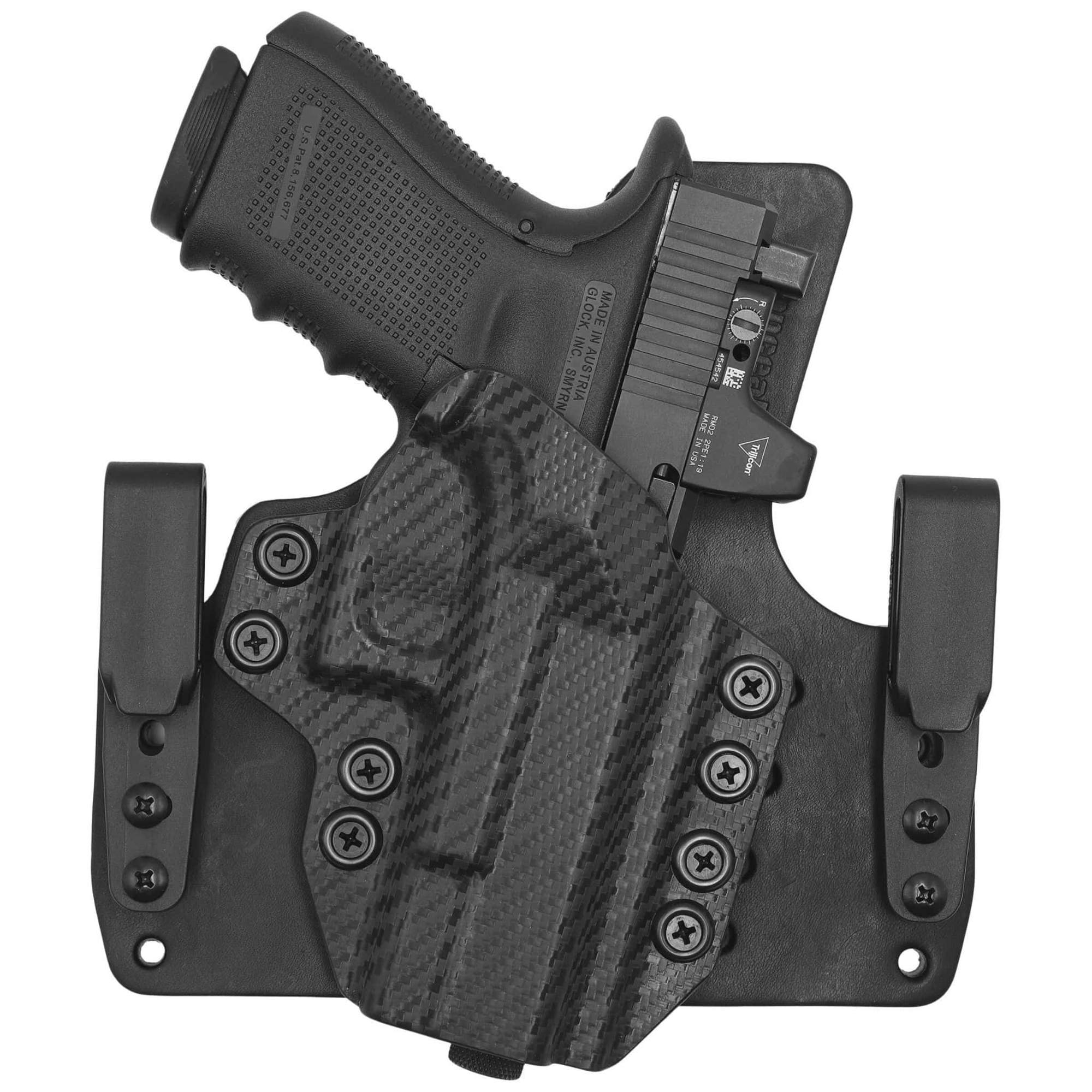 Leather KYDEX Hybrid Holsters