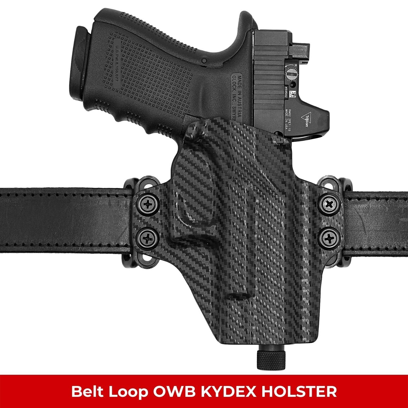 OWB KYDEX Belt Loop Holster