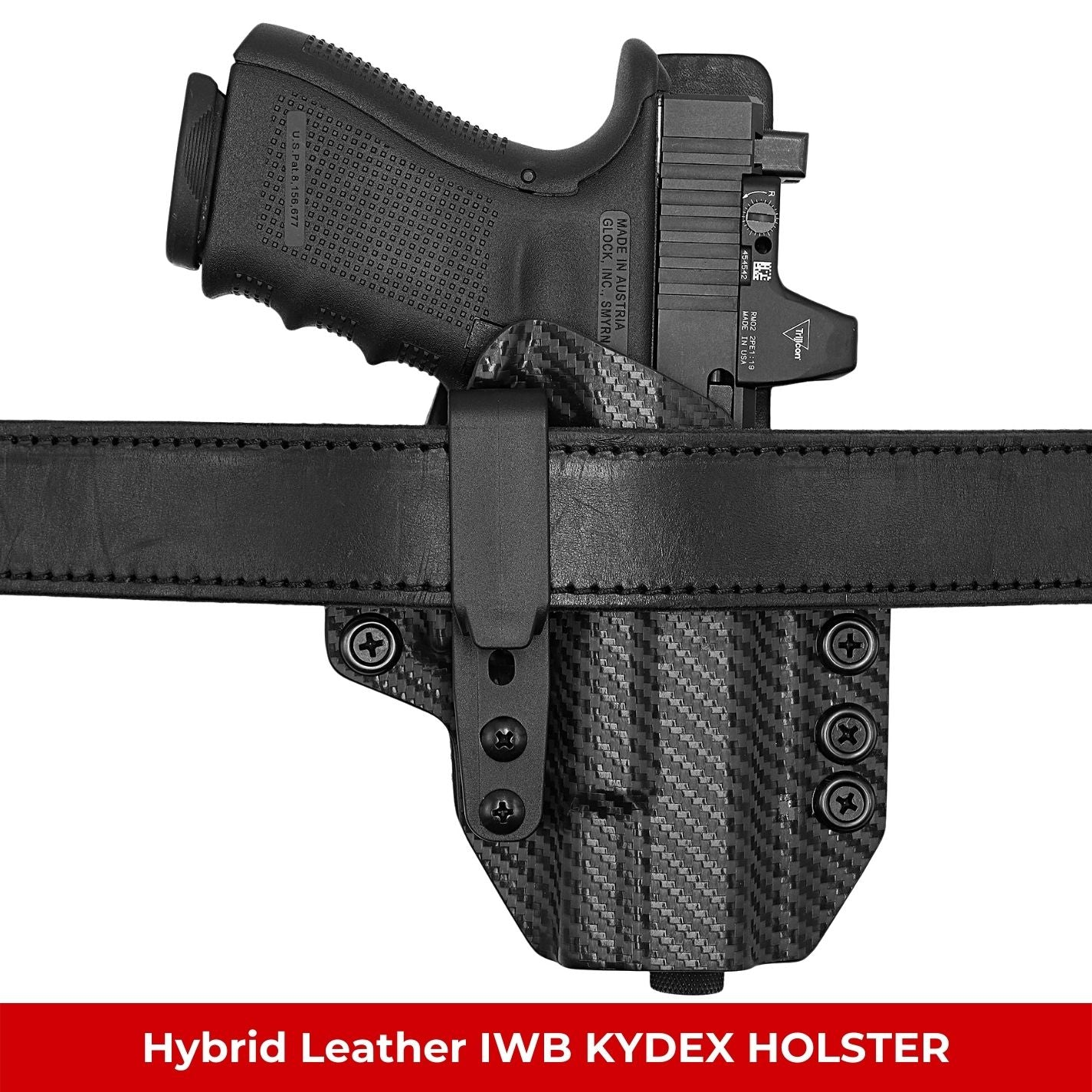 Hybrid Leather IWB KYDEX Holsters