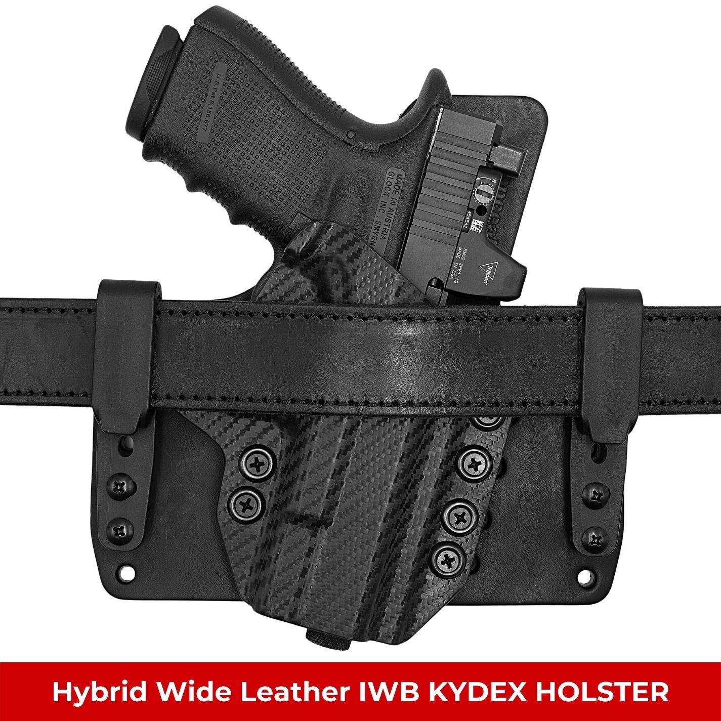 Hybrid Wide Leather IWB KYDEX Holsters