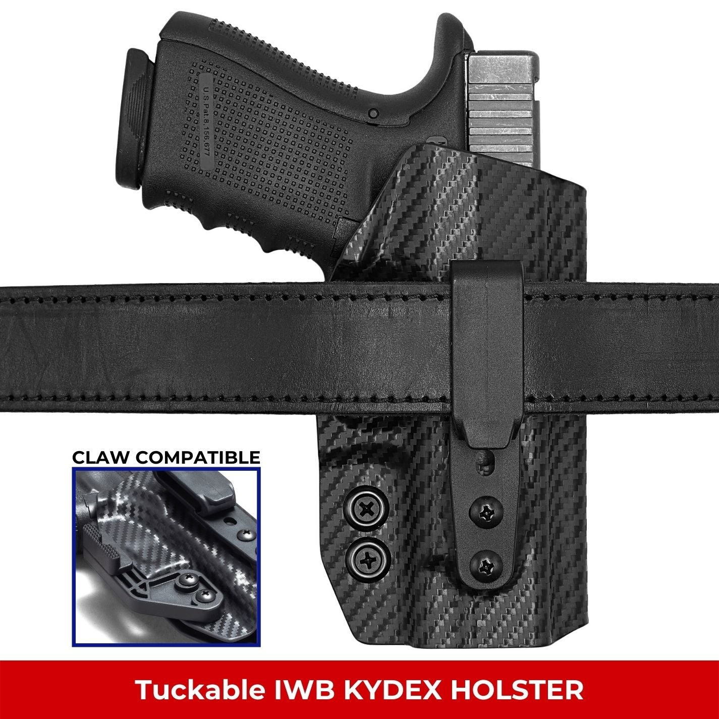 Tuckable IWB KYDEX Holster
