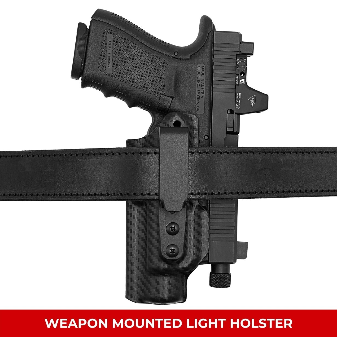 Weapon Mounted Light Holsters