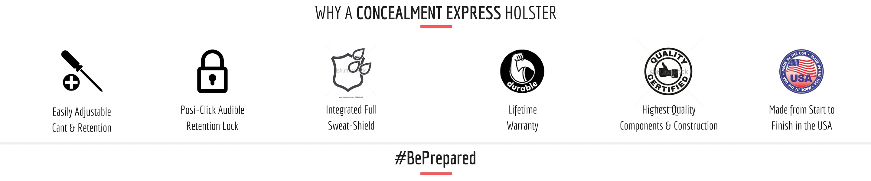 Why Choose a Concealment Express Holster