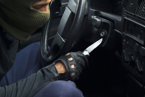 carjacking with knife