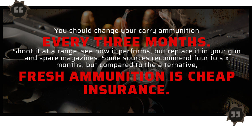 ammunition replacements quote