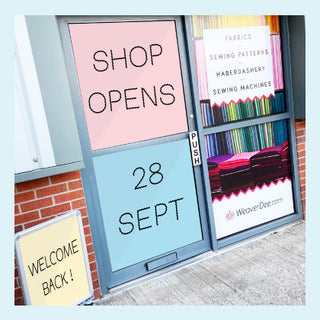 Shop re-opens 28 September